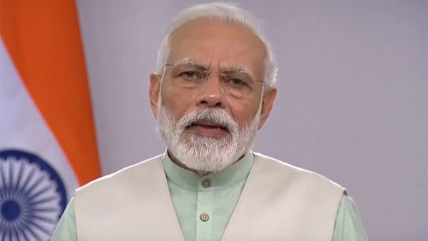 Turn off lights, stay home, don't come on the streets says PM Modi