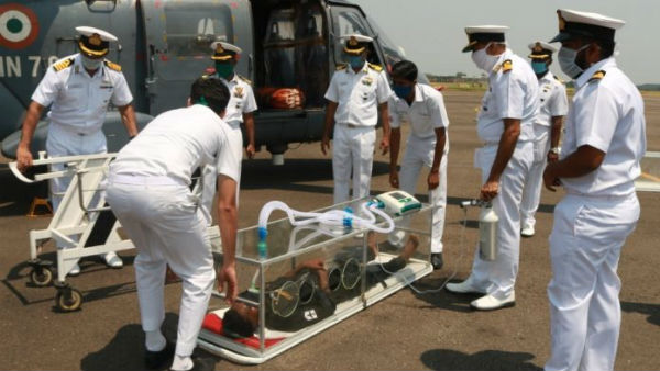 Air evacuation pod for coronavirus patients developed by Navy