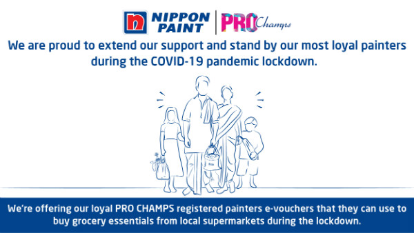 Nippon Paint extends support to the painter community in karnataka amidst Covid-19 pandemic