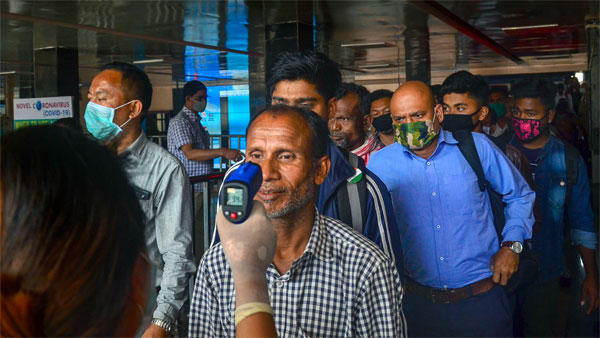 Fake infrared thermometers, materials used for making sanitisers seized in Bengaluru
