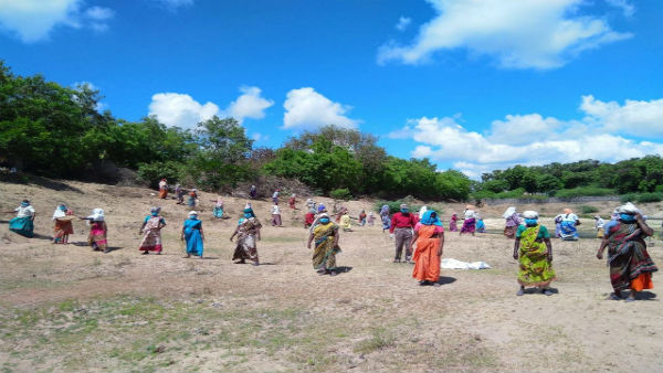MNREGA work resumes in Puducherry