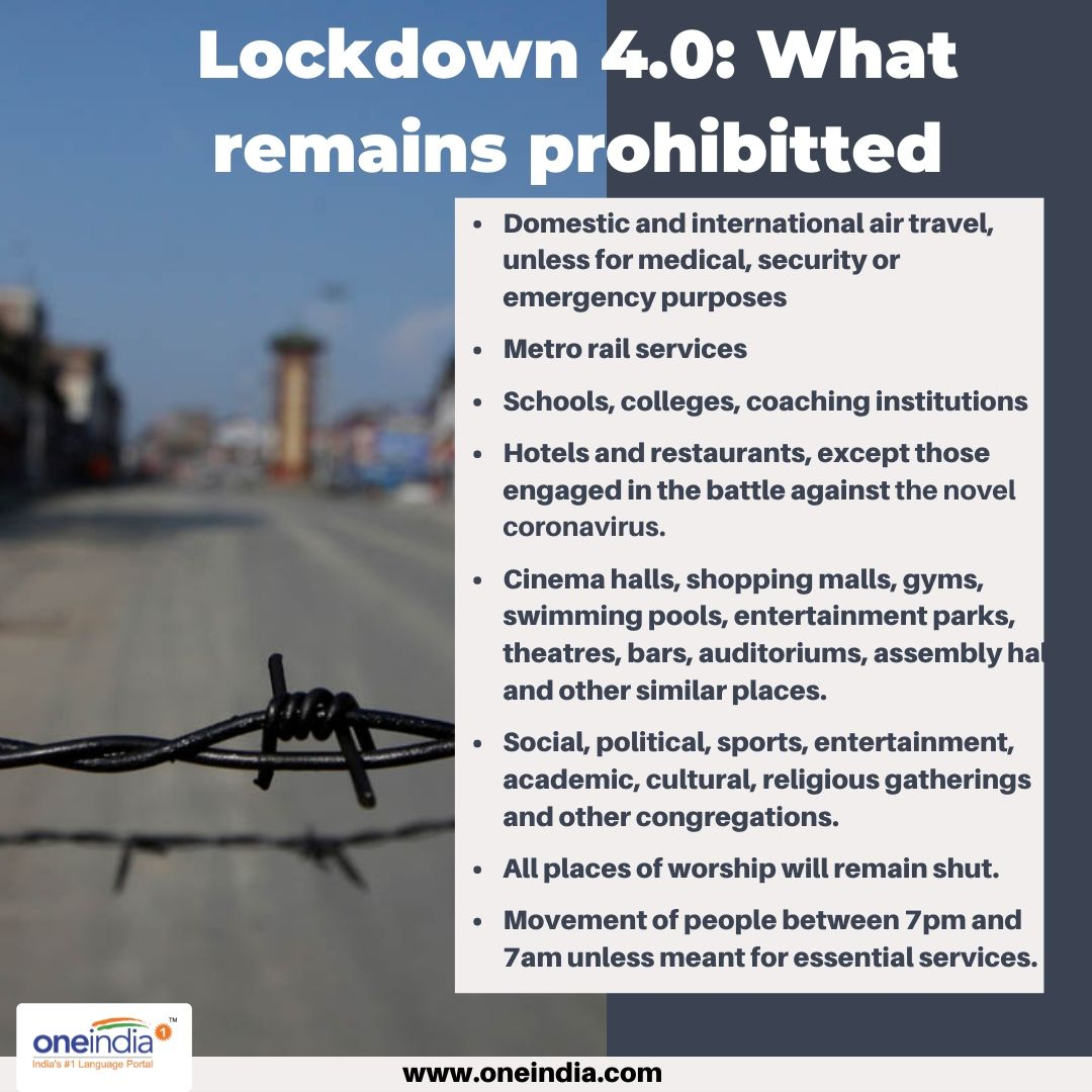 Lockdown 4.0: 7 pm-7 am night curfew to stay in place till May 31