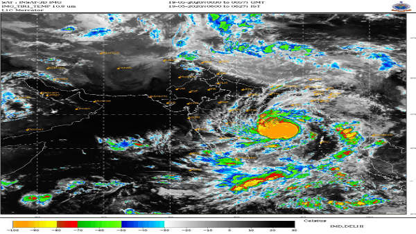 Amphan now a 'super cyclone'; to make landfall near West Bengal coast on Wednesday evening