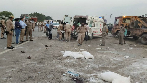 After Auraiya 5 more migrant workers killed in road mishap in MP