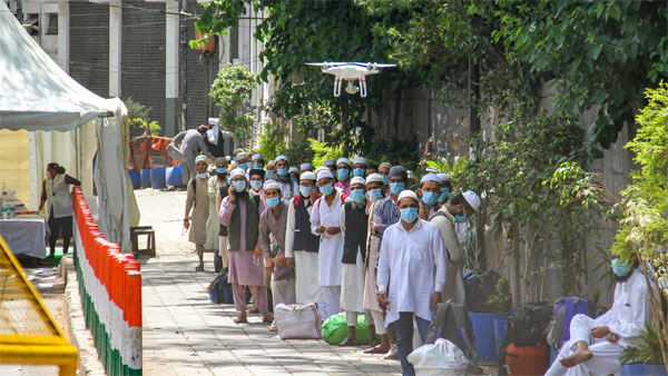 Over 16,000 visited Tablighi Jamaat HQ between March 13 and 24