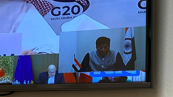 Piyush Goyal calls upon G-20 nations to ensure access to essential medicines