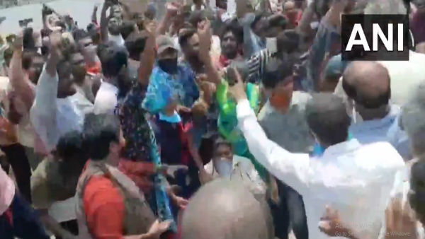 Watch: Locals protest, demand plant relocation after Vizag gas leak