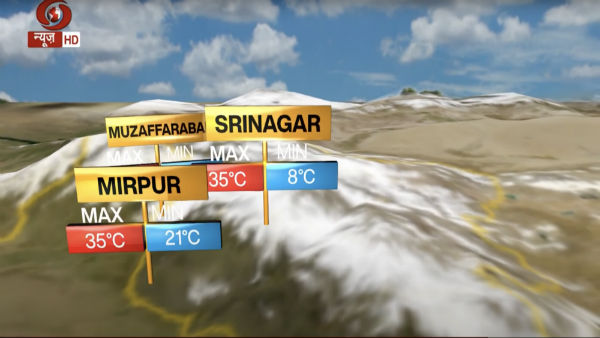 Gilgit to Guwahati: Why Doordarshan's new weather forecast will up temperatures in Pakistan