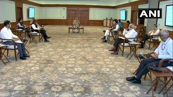 Save cost, reduce flying time: PM Modi during meet with Civil Aviation Ministry