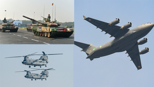 Amidst tensions with China, how C-17s are lifting the 46 tonne T-90 tanks