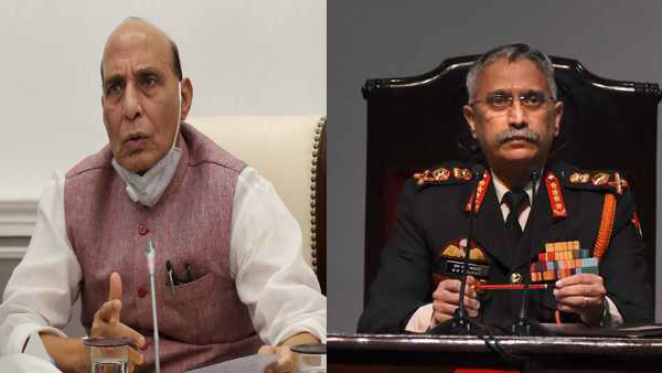 Indo-China stand off: Army Chief briefs Rajnath Singh on situation along LAC