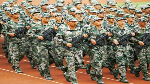 China boasts of its capabilities of quickly reinforcing border defence
