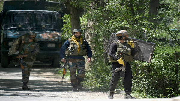 Two terrorists killed in encounter at J&K