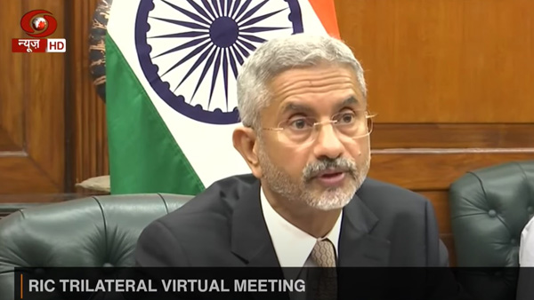 Ahead of RIC, Jaishankar says meet is about international relations, no specific mention of China