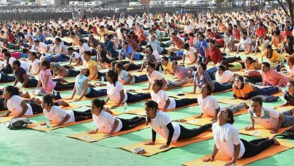 Yoga Day To Be Marked On Digital Platforms Amid Covid 19 Pandemic Oneindia News