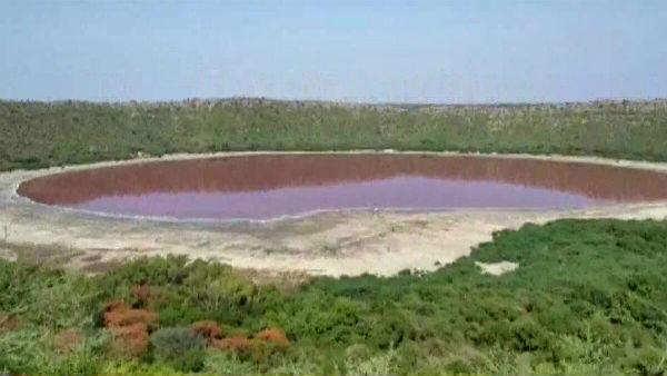Lonar Lake in Maharashtra mysteriously turns red; Forest officials puzzled