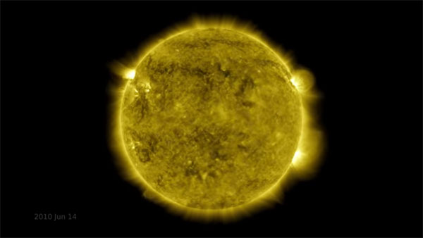 Watch: NASA releases stunning 10-year timelapse of Sun