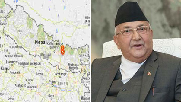 Pause map, let us talk, India to Nepal