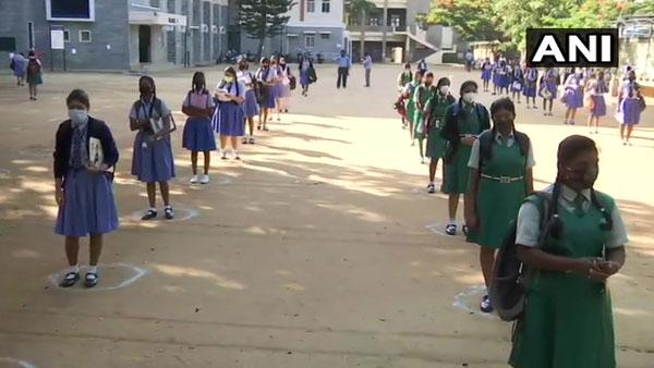 Amid pandemic peak, how St. Joseph's Convent Girls High School in Bengaluru is organising SSLC exam