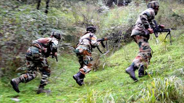 3 terrorists gunned down in encounter at Jammu and Kashmir