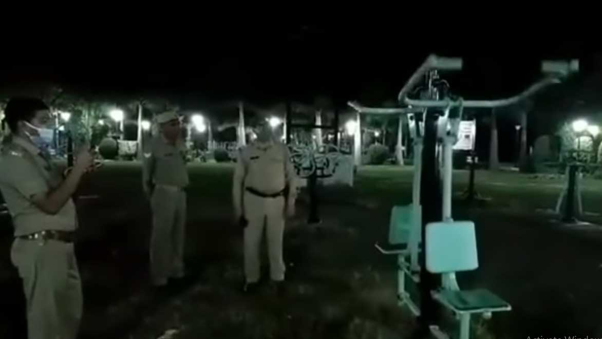 Watch: Ghost swinging on a swing caught on camera in Delhi park