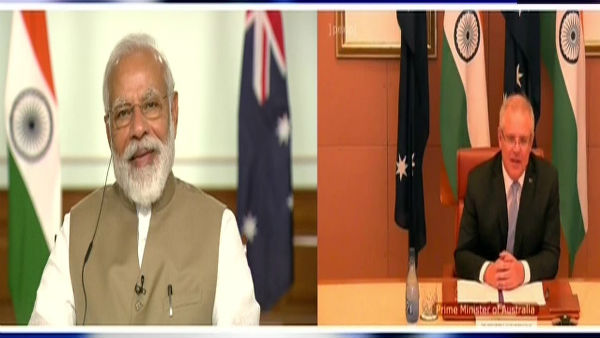PM Modi holds first-ever virtual summit with Australia PM