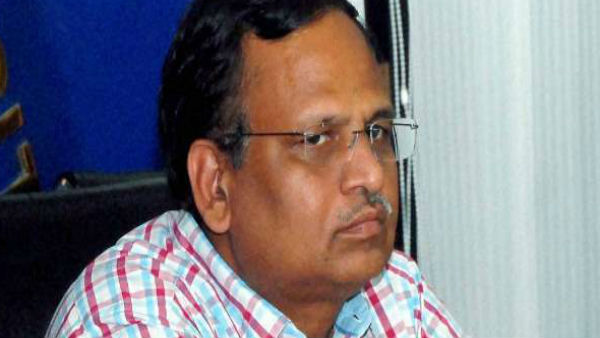 Delhi health minister Satyendar Jain tests positive for Coronavirus
