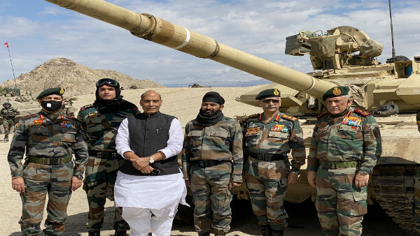 Defence Minister Rajnath Singh, CDS, Army Chief review security in Leh amid border row with China