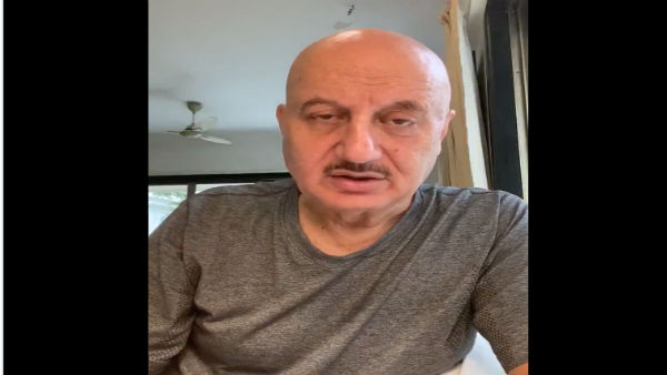 Veteran actor Anupam Kher receives COVID-19 vaccine, thanks medical staff