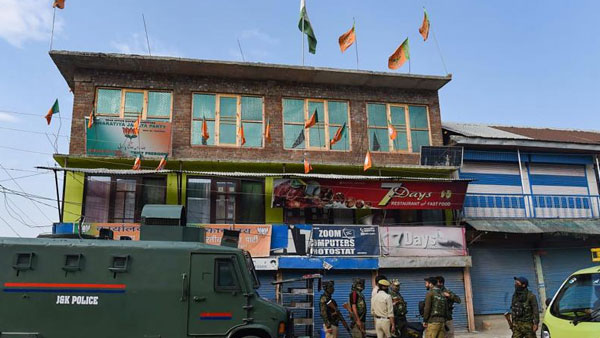 The Resistance Front claims responsibility for killing of BJP leader in J&K