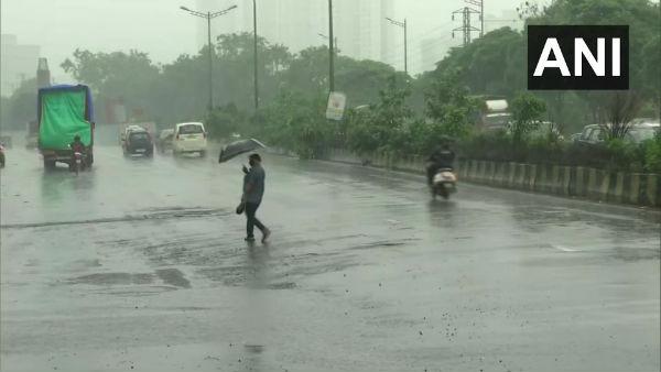 Maharashtra: Rain lashes parts of Mumbai, city records second-highest single-day rainfall since 2015