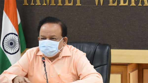 Indias COVID-19 doubling rate at 21.8 days: Dr Harsh Vardhan