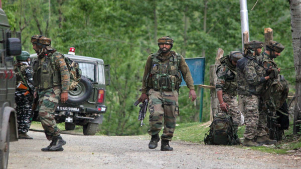 Four jawans injured, 1 civilian killed after terrorists open fire at CRPF party