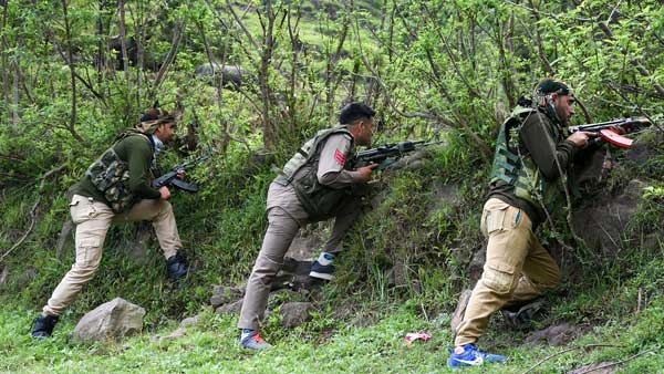 Three soldiers martyred in ambush by terrorists at Manipur