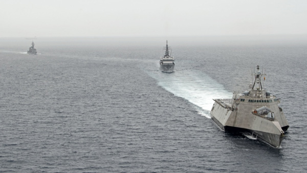Indian Navy's clear message to Beijing following escalation of border tension