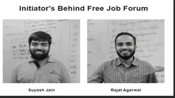 To help job seekers during COVID-19, these two entrepreneurs take a fine and innovative initiative