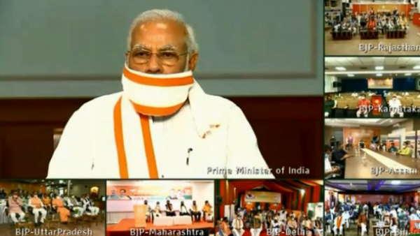 PM Modi hails BJP Karyakartas' relief work amid COVID-19 crisis