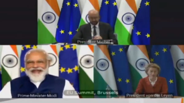 Both India and EU share universal values like democracy, says PM Modi at Summit