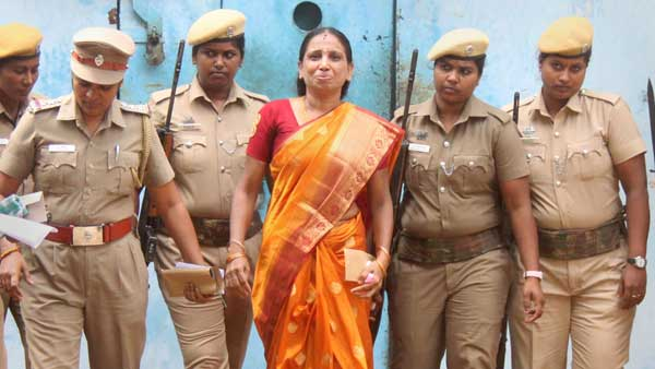 Convict in Rajiv Gandhi assassination case, Nalini attempts suicide in jail
