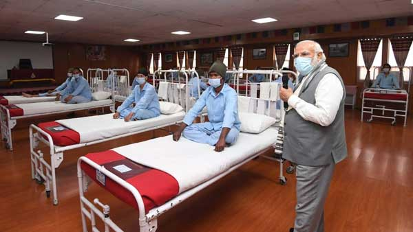 All of you gave a befitting reply: PM Modi tells jawans injured in Galwan clash