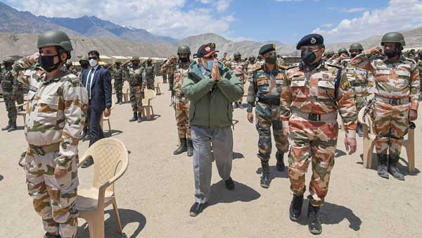 Malicious says Indian Army after many question facility visited by PM Modi  at Leh - Oneindia News  - narendra modi52 1593853990