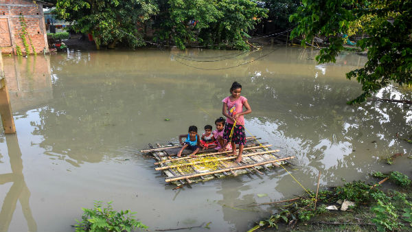PM speaks to Assam CM over flood, COVID-19; announces Rs 2 lakh each for those killed in deluge