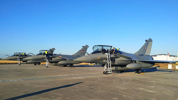 First batch of Rafales take off from France, to touch base in India on July 29