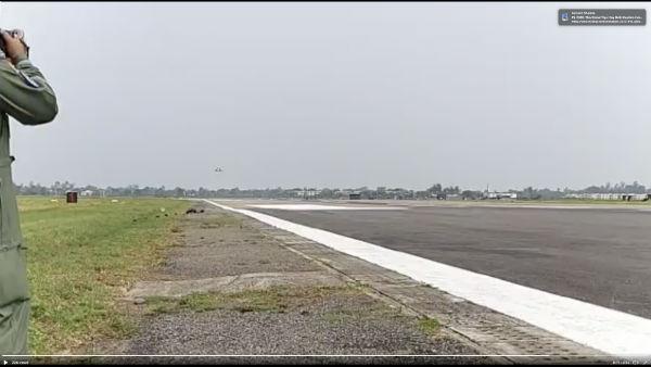 Watch: Rafale fighter jets landing at Ambala Airbase in Haryana