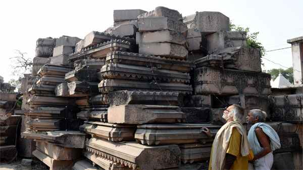 Big screens, Silver bricks: Stage set for Ayodhya temple groundbreaking event