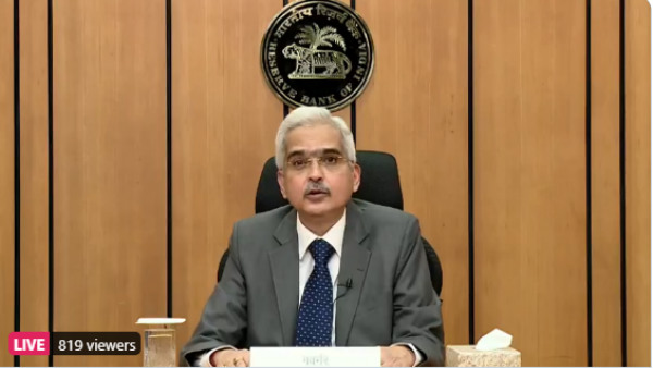 RBI Monetary Policy: MPC keeps repo rate unchanged at 4 per cent, says RBI Governor Shaktikanta Das