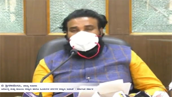 Only God can save us: Karnataka Health Minister amid COVID-19 surge
