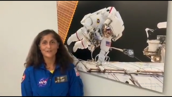 Sunita Williams on her time in space and the Mars mission