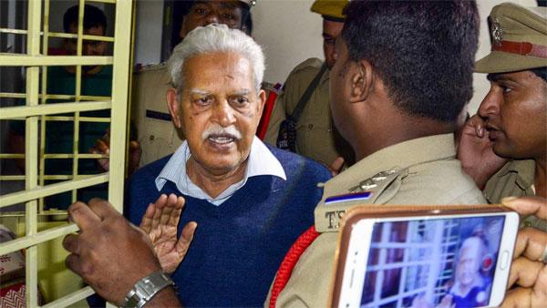 Varavara Rao seeks HC nod for cash bonds in lieu of sureties for bail