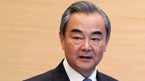 Let us adhere to strategic assessment instead of poising threats: Chinese foreign minister